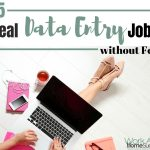 15 Real Data Entry Jobs from Home without Fees
