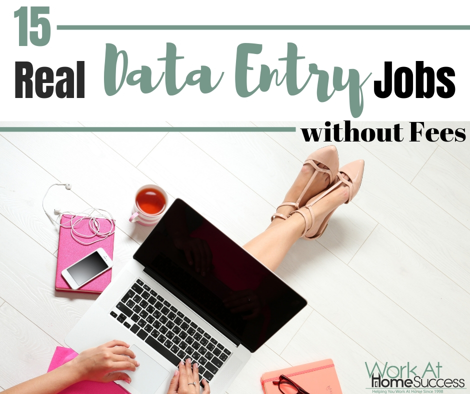 Real Data Entry Jobs from Home without Fees