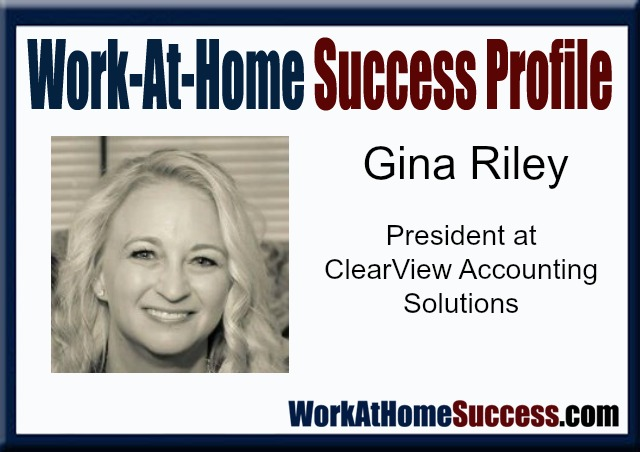 Work-At-Home Success Profile: Gina Riley