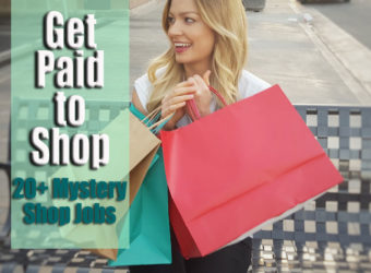 Get Paid to Shop: 20+ Mystery Shopping Jobs