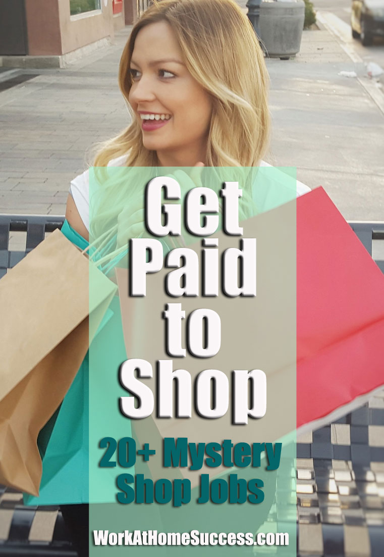 Get Paid to Shop: 20+ Mystery Shopping JobsGet Paid to Shop: 20+ Mystery Shopping Jobs