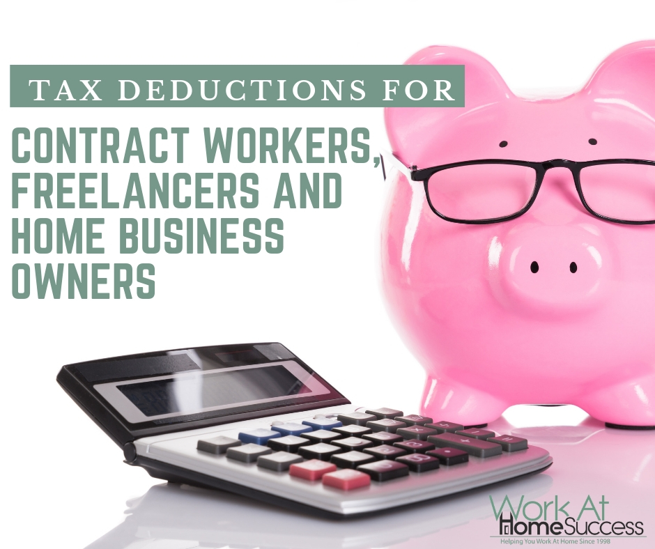 Tax Deductions for Contract Workers, Freelancers, and Home Business Owners