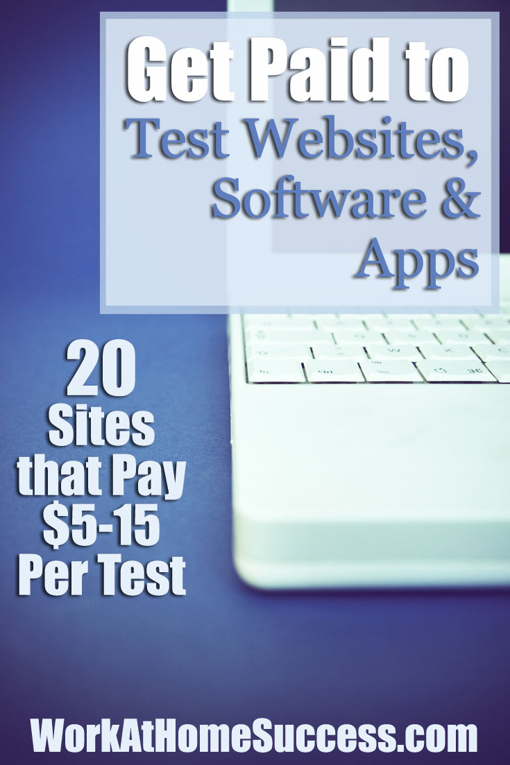 Get Paid to Test Websites, Software & Apps