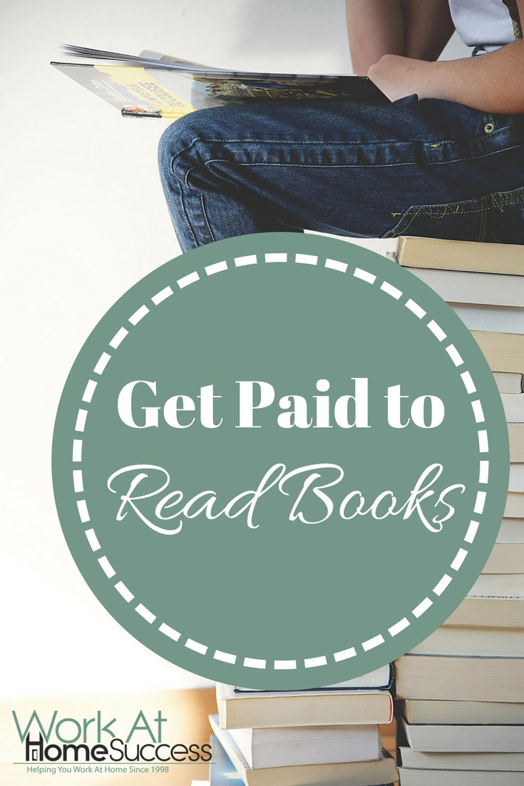 Would you rather be reading? Here are work at home ideas for people who love to read.