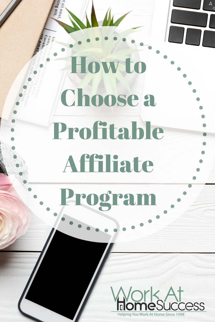 How to Choose a Profitable Affiliate Program