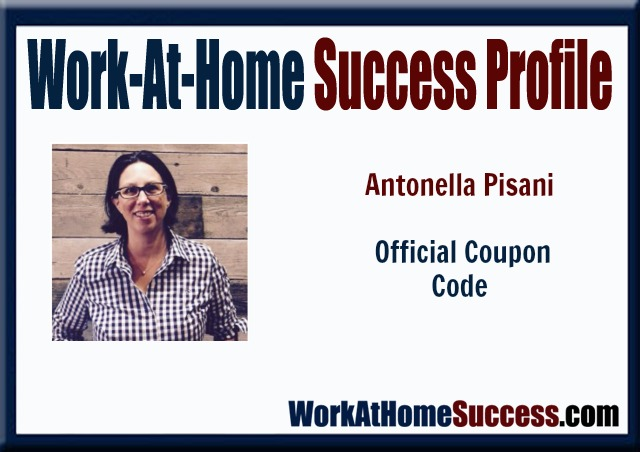 Work-At-Home Success: How Antonella Pisani Used Her Skills at eCommerce to Form Official Coupon Code