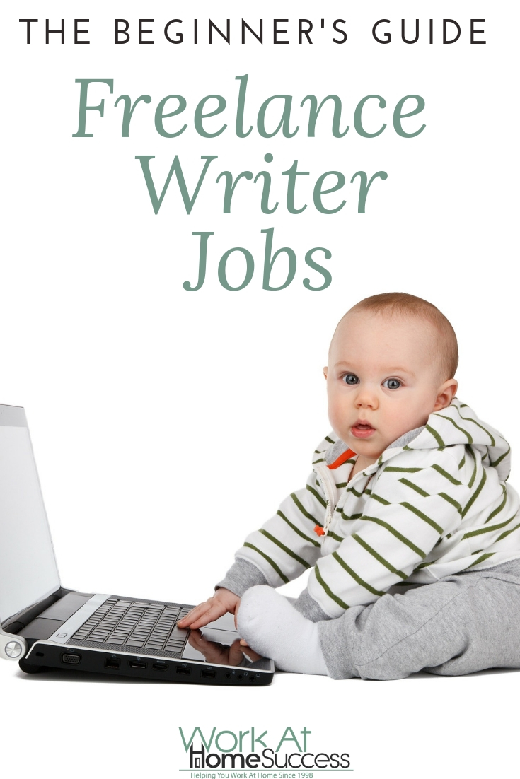 Freelance writing is a great work-at-home option for flexibility in your schedule and/or location. Here\'s how and where to find your first writing jobs. #freelancewriting #writinggigs #workathome