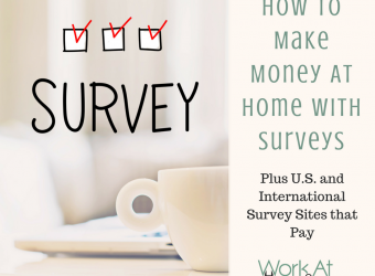 How to Make Money At Home with Surveys, Plus Survey Sites that Pay (1)