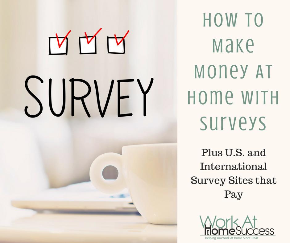 Get Paid to Take Surveys Online, Plus Best Paid Survey Sites