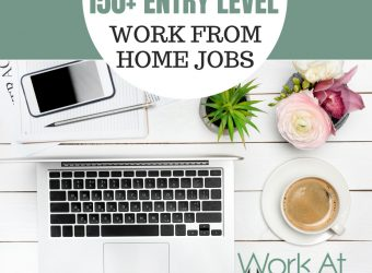 150+ Entry Level Work From Home Jobs