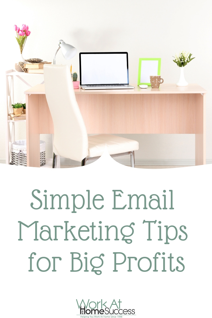 Easy, step-by-step instructions and tips for setting up an email list to boost your online income through email marketing. #marketingtips #emailmarketing