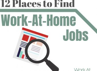 12 Places to Find Work-At-Home Jobs