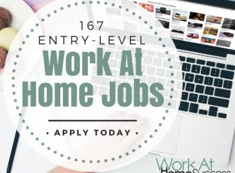 167 Entry Level Work At Home Jobs