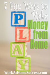 7 Fun Ways to Make Money from Home