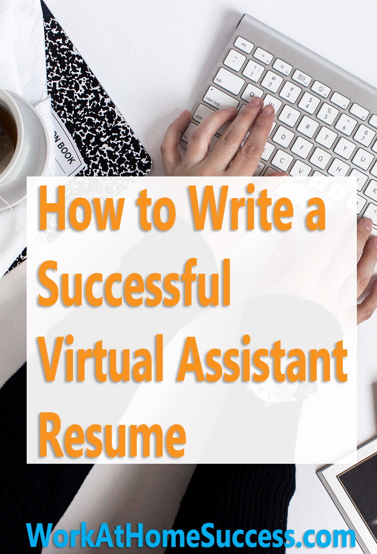 How to Write a Successful Virtual Assistant Resume