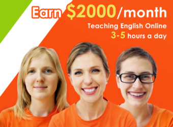 Earn $2000 per month teaching English Online