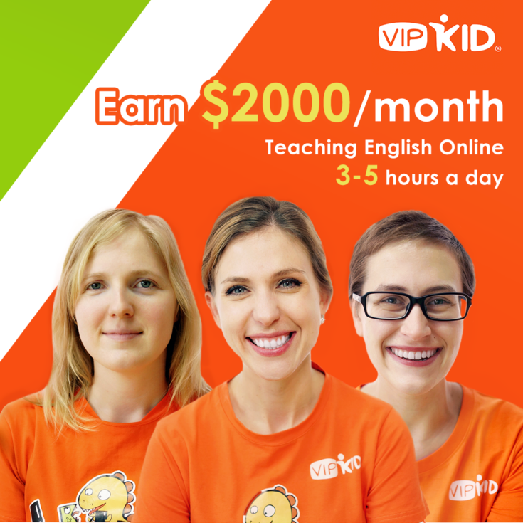 Earn $2000 per month teaching English Online