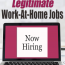 How to Find Legitimate Work-At-Home Jobs