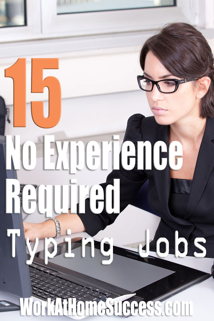15 No Experience Required Typing Jobs