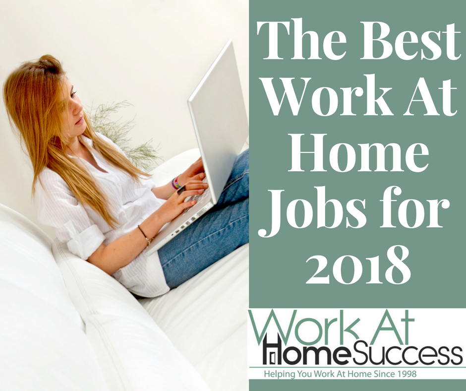 Best Work-At-Home Jobs for 2018