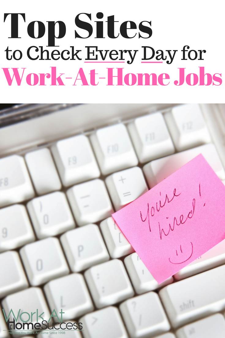 Top places to find legitimate work-at-home jobs. Search and apply to a work at home job now!  #workathome #telecommute #jobsearch