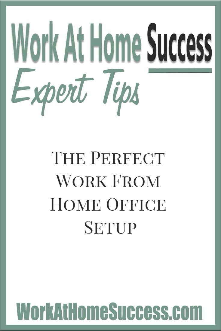 Work-At-Home Experts Share Their Perfect Work At Home Office Set Ups ...