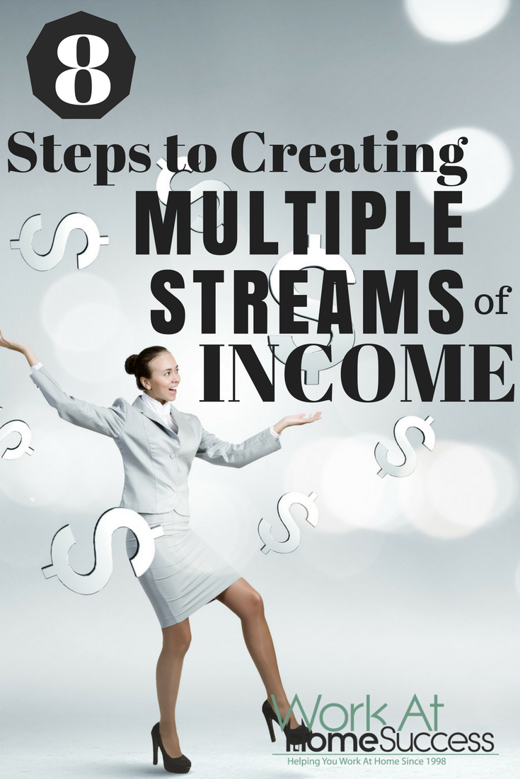 8 Steps to Creating Multiple Streams of Income