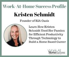 Kristen Schmidt Founder of RIA Oasis