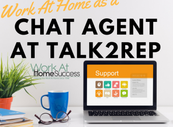Work At Home as a Chat Agent At Talk2Rep