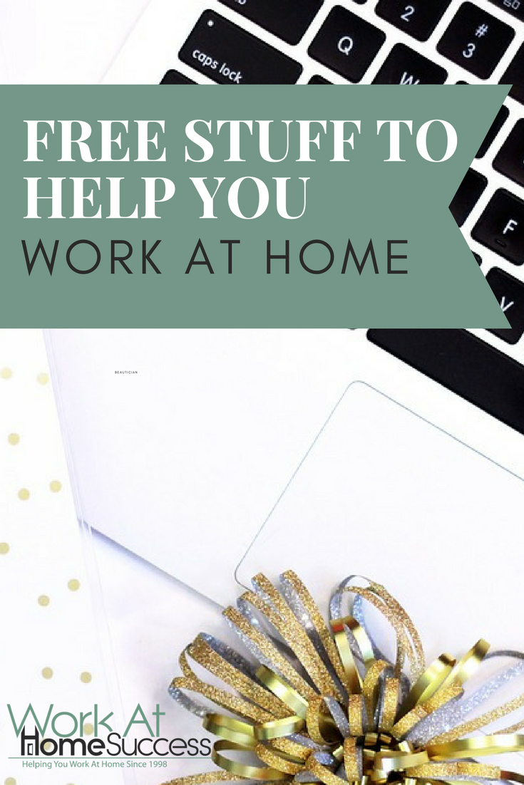 It doesn't necessarily take money to make money from home. Here are free resources to help you work at home.