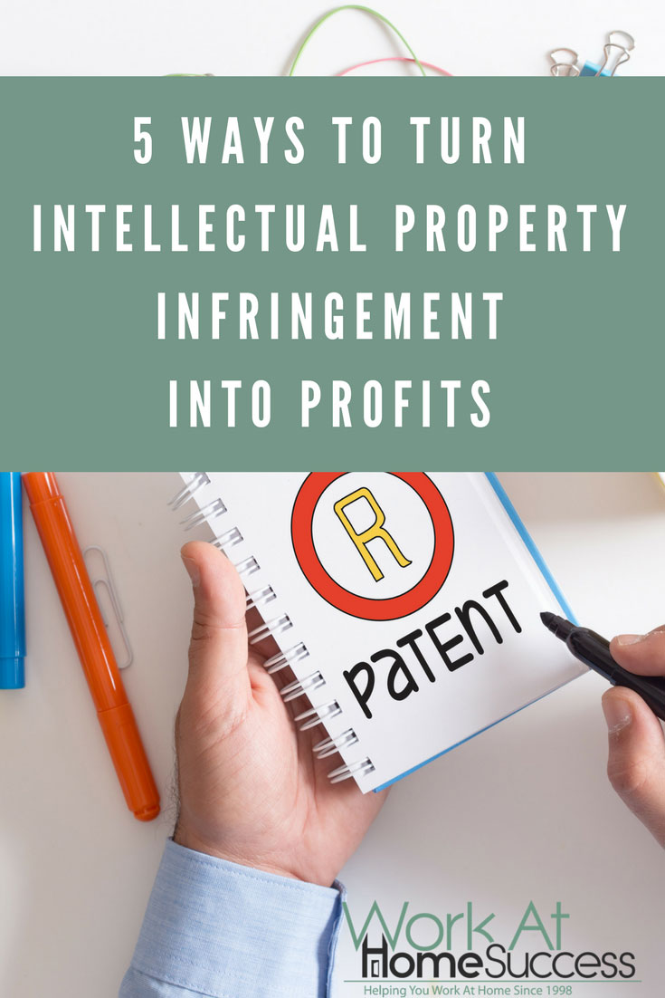 Before you sue for intellectual property infringement, consider licensing your intellectual property or partner with the offender to boost profits.