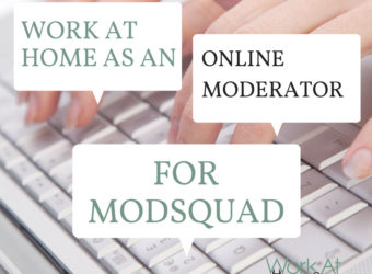 Work At Home As An Online Moderator For ModSquad