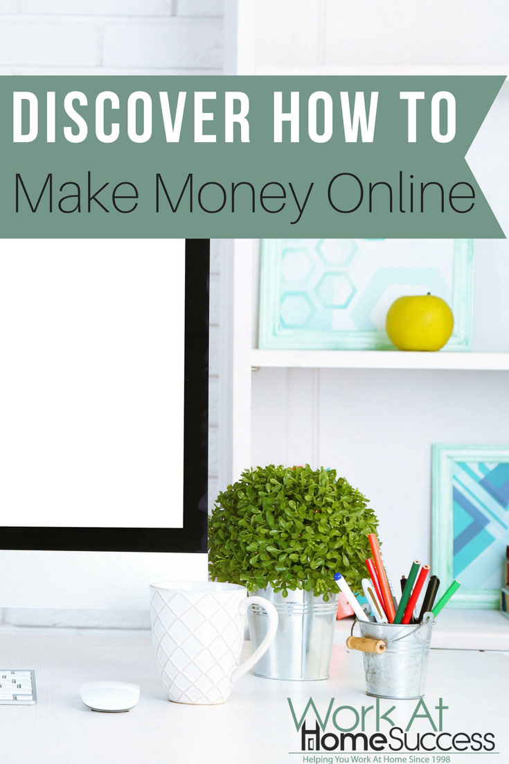 Check out these great ideas for making money 100% online.
