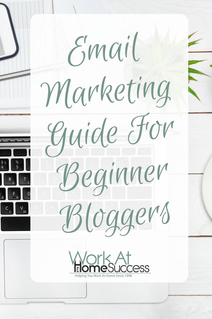 Overview and tips to helping beginning bloggers get started in email marketing to build their blog and their income.