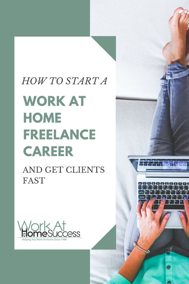 How to quickly and affordably get started working at home as a freelancer, including what jobs you can freelance, tips to setting your price, and how to find clients fast.