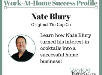 Learn how Nate Blury turned his interest in cocktails into a successful home business!