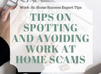 Tips on spotting and avoiding work at home scams