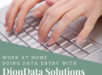 Work At Home Doing Data Entry with DionData Solutions
