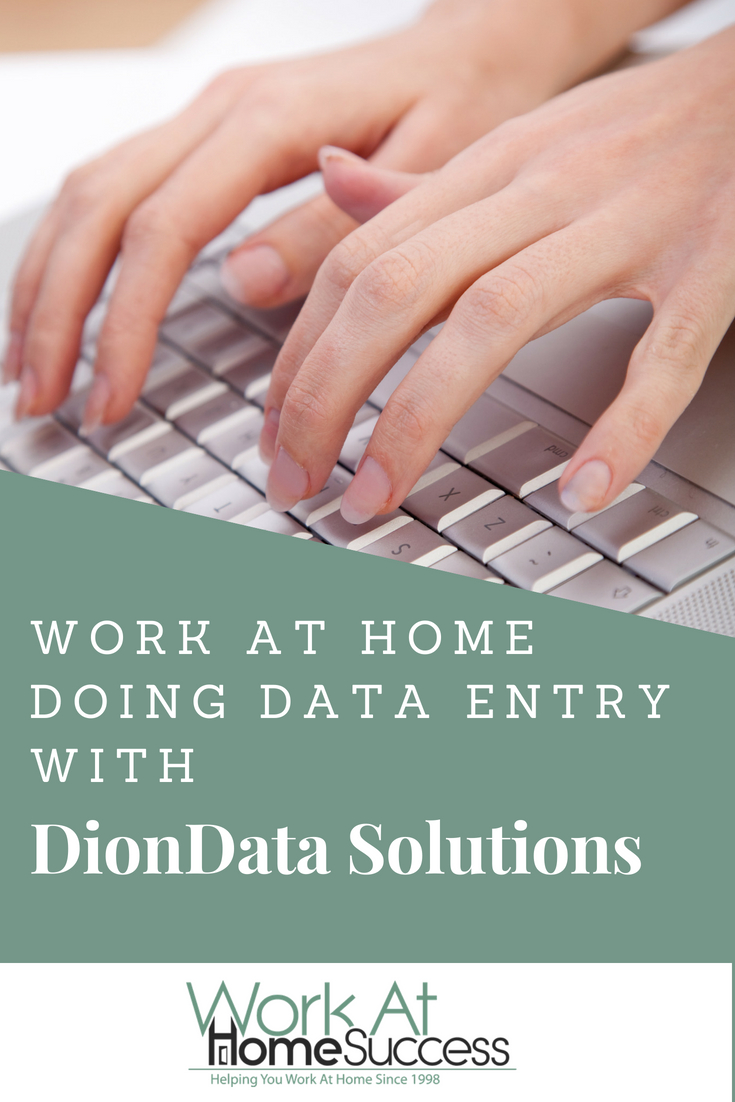 Looking for a legitimate work at home data entry job? Check out DionData Solutions.
