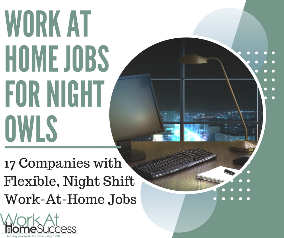 ork At Home Jobs for Night Owls