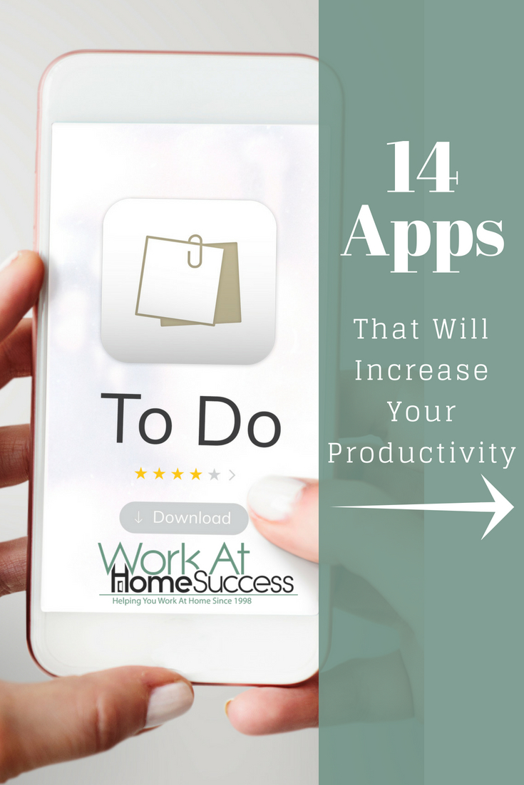 14 Apps to help you stay on task, avoid distractions, develop good habits and more to keep you focused and productive working at home.