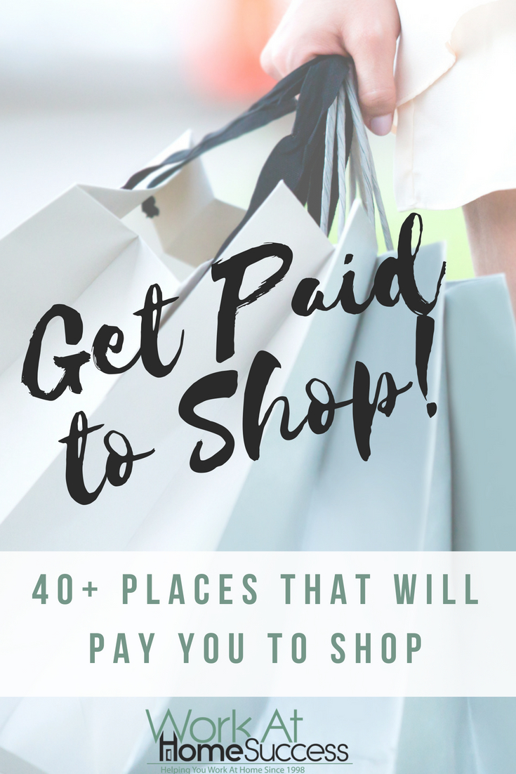 Learn 3 different ways to make money shopping, plus a list of over 40 places that will pay you to shop online and offline, and through phone apps.