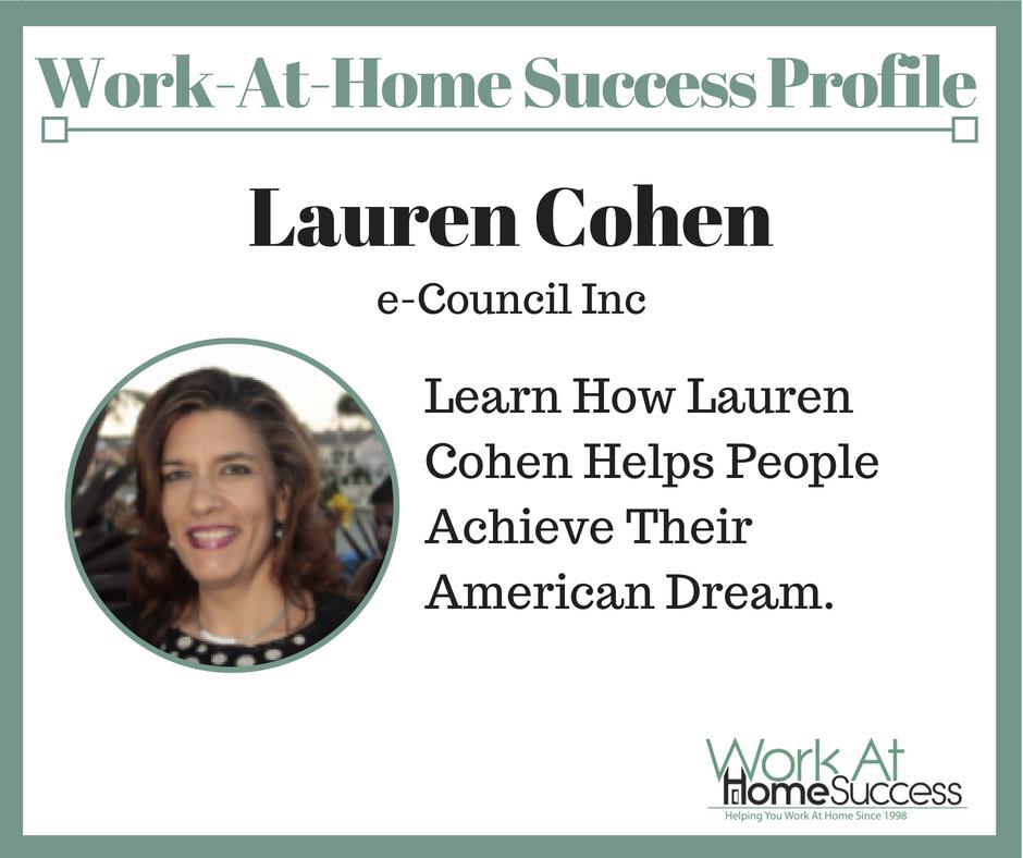 How Lauren Cohen Helps People Achieve Their American Dream