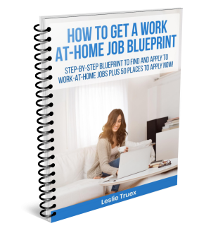 How to Get a Work-At-Home Job Blueprint