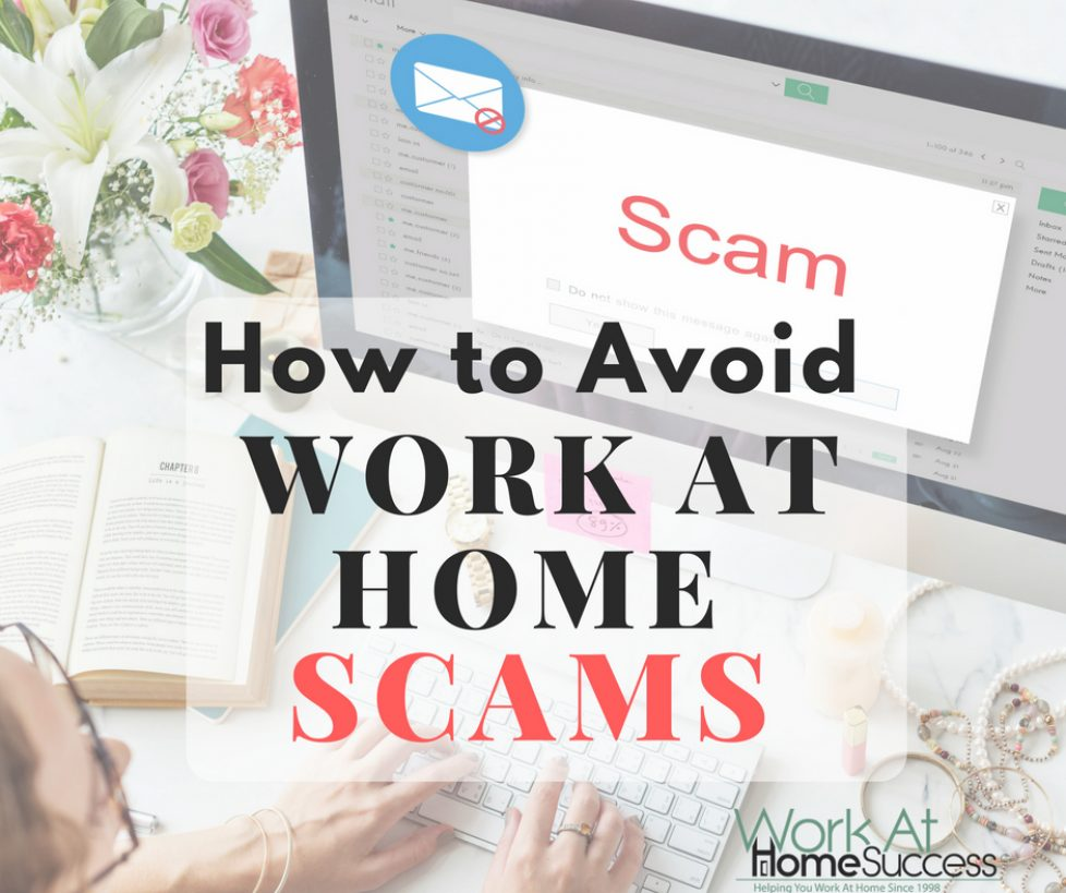 How to Avoid Work At Home Scams