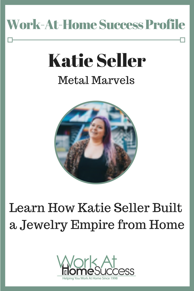 Learn how Katie Seller decided to skip the rat race and instead build a home based career selling jewelry.
