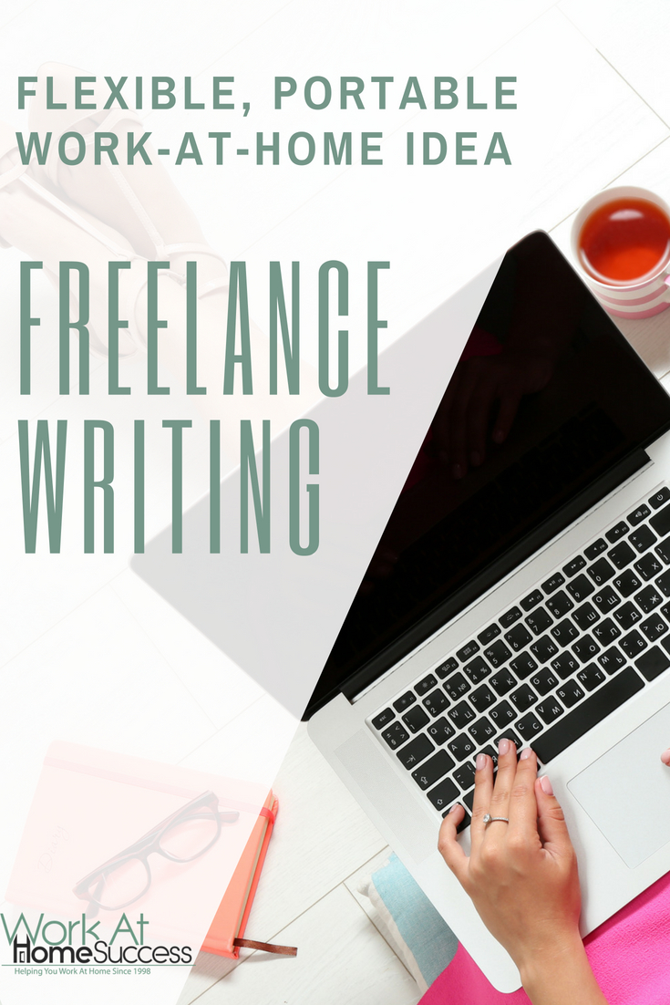 Information on freelance writing, including steps to get started working at home as a freelance writer, and resources for finding clients and jobs.