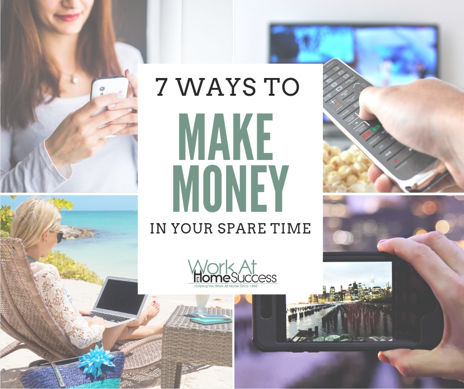 7 Ways to Make Money in Your Spare Time