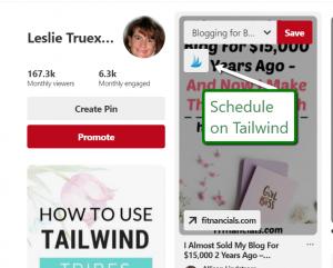 Tailwind to Schedule Pinterest