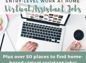 Entry Level Virtual Assistant Jobs from Home